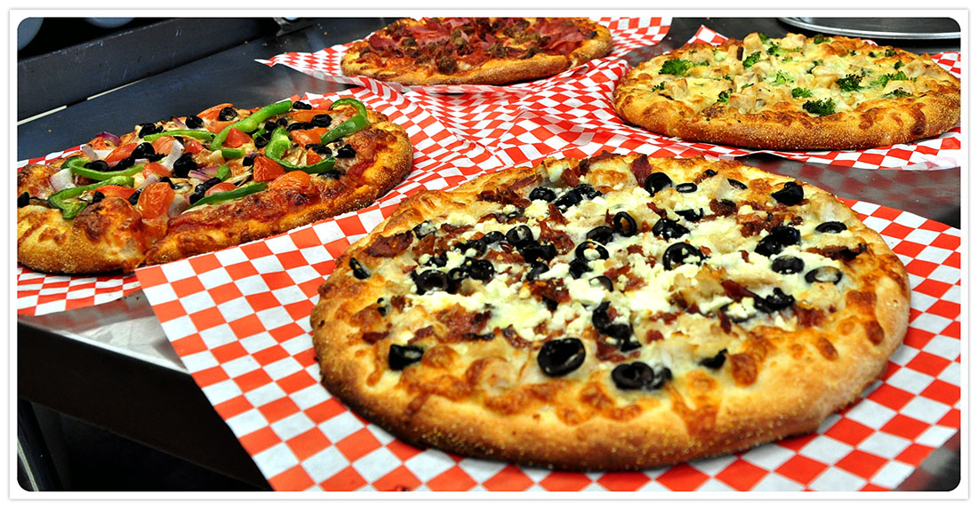 Valintina Pizza - Four Specialty Pizza