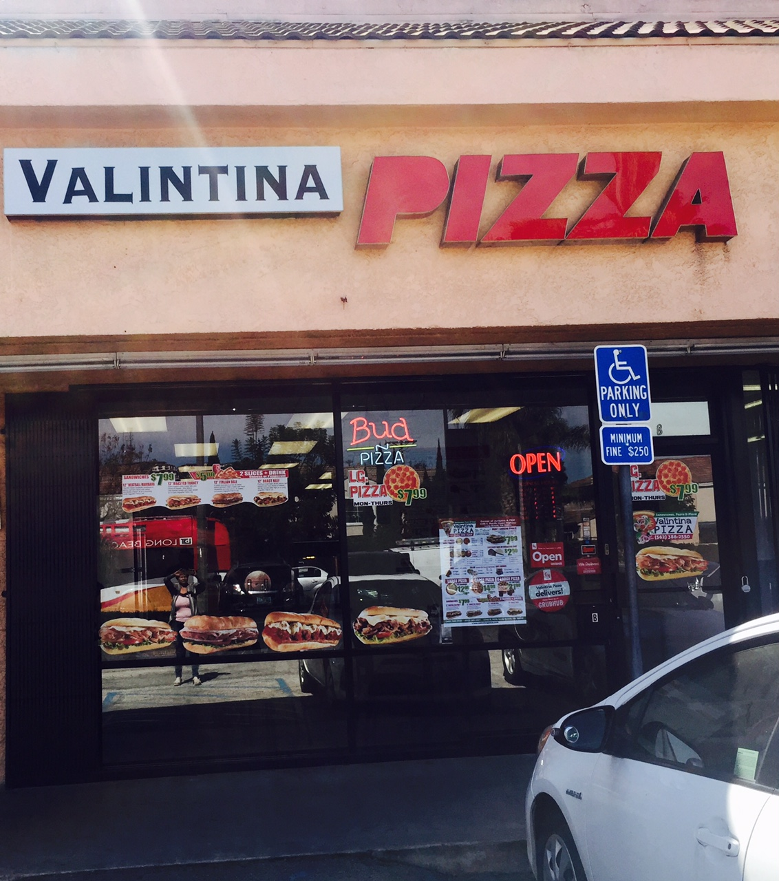 Valintina Pizza Shop Sign