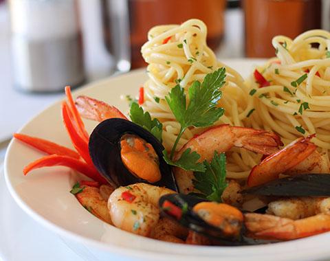 Блюда с морепродуктами в домашних условиях